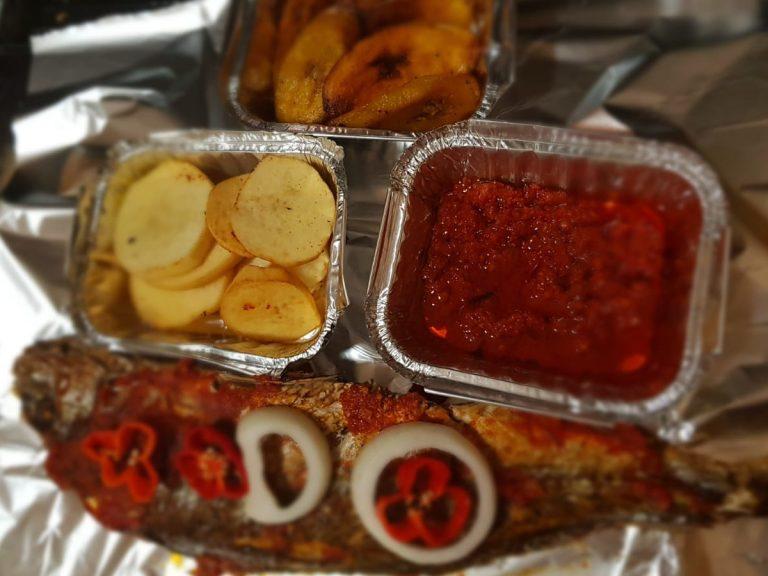 joyd kitchen Plantain Fish